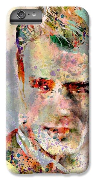 James Dean IPhone 7 Plus Case by Mark Ashkenazi