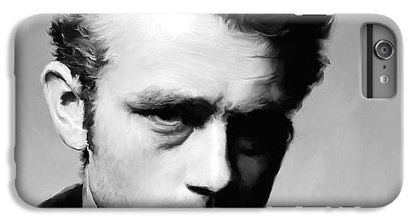 James Dean - Portrait IPhone 7 Plus Case by Paul Tagliamonte