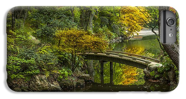 IPhone 7 Plus Case featuring the photograph Japanese Garden by Sebastian Musial
