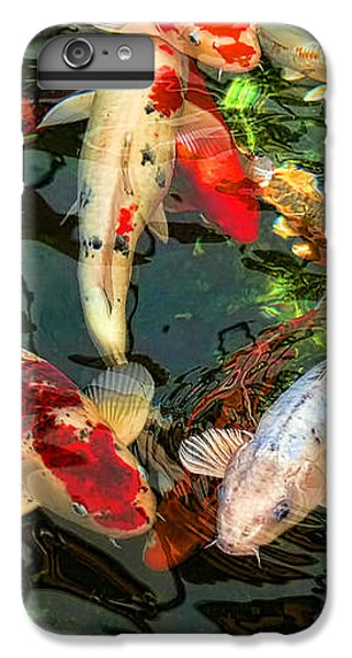 Koi iPhone 7 Plus Case - Japanese Koi Fish Pond by Jennie Marie Schell