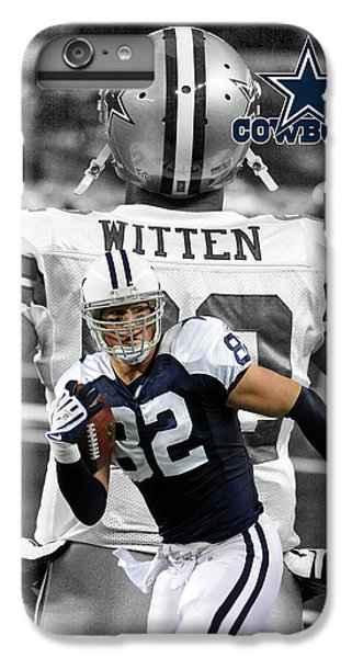 Dallas iPhone 7 Plus Case - Jason Witten Cowboys by Joe Hamilton