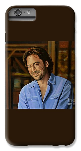 Javier Bardem Painting IPhone 7 Plus Case