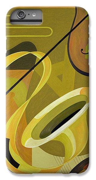 Trombone iPhone 7 Plus Case - Jazz by Carolyn Hubbard-Ford