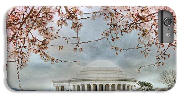 Jefferson Memorial iPhone 7 Plus Case - Jefferson Blossoms by Lori Deiter