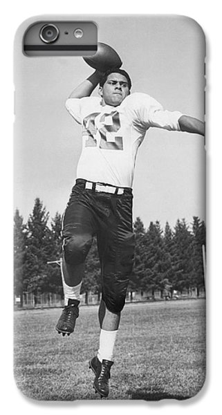 Joe Francis Throwing Football IPhone 7 Plus Case by Underwood Archives