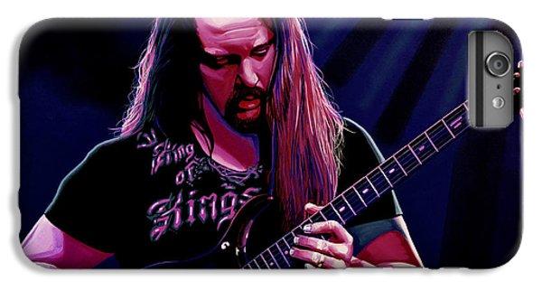John Petrucci Painting IPhone 7 Plus Case by Paul Meijering