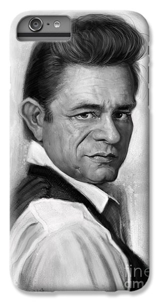 Johnny Cash IPhone 7 Plus Case by Andre Koekemoer