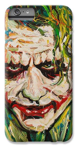 Heath Ledger iPhone 7 Plus Case - Joker by Michael Wardle