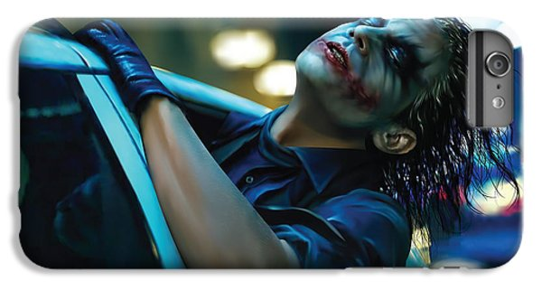 Joker IPhone 7 Plus Case by Veronika Limonov