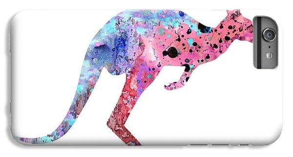 Kangaroo iPhone 7 Plus Case - Kangaroo 2 by Watercolor Girl