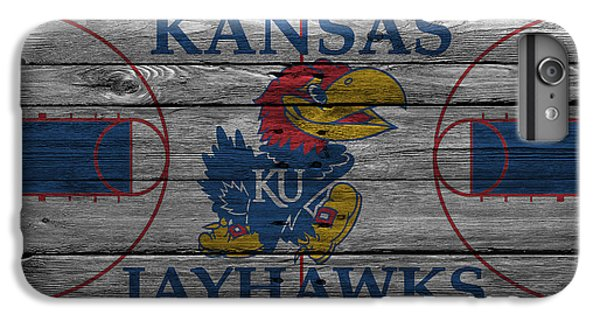 Kansas Jayhawks IPhone 7 Plus Case by Joe Hamilton