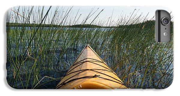 Lake Superior iPhone 7 Plus Case - Kayaking Through Reeds Bwca by Steve Gadomski