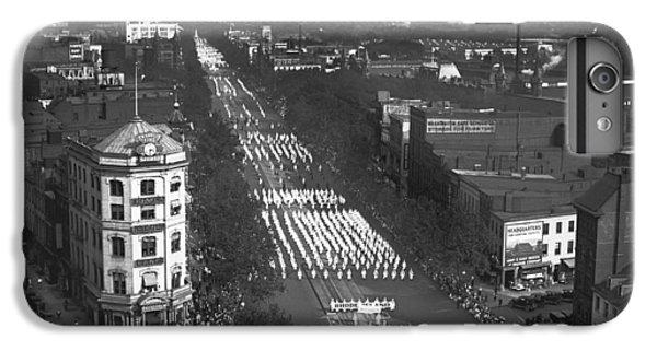 Capitol Building iPhone 7 Plus Case - Ku Klux Klan Parade by Harris & Ewing