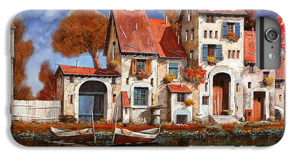 Boat iPhone 7 Plus Case - La Cascina Sul Lago by Guido Borelli