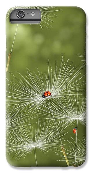 Ladybug iPhone 7 Plus Case - Ladybug by Veronica Minozzi