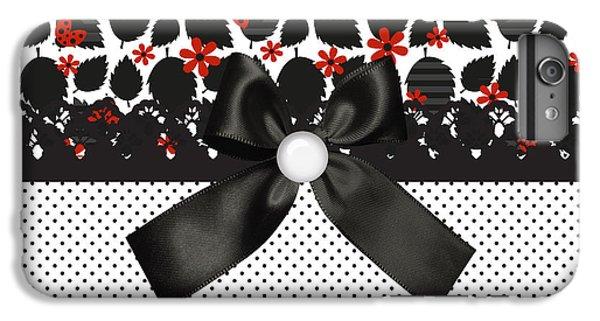 Ladybugs Leaves  IPhone 7 Plus Case by Debra  Miller