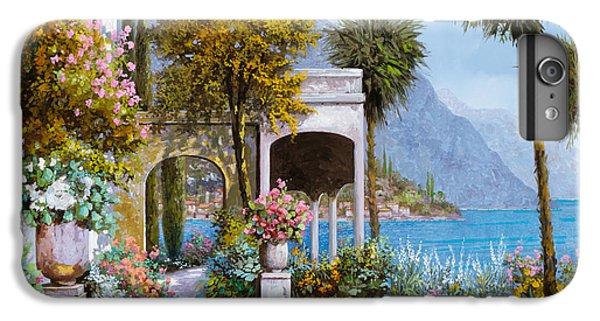 Lake iPhone 7 Plus Case - Lake Como-la Passeggiata Al Lago by Guido Borelli
