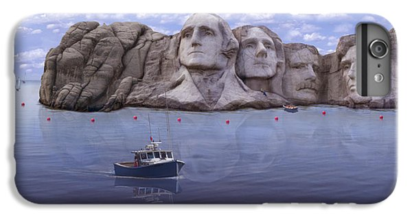 Lake Rushmore IPhone 7 Plus Case by Mike McGlothlen