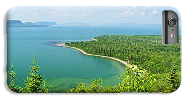 Lake Superior iPhone 7 Plus Case - Lake Superior Panorama by Elena Elisseeva