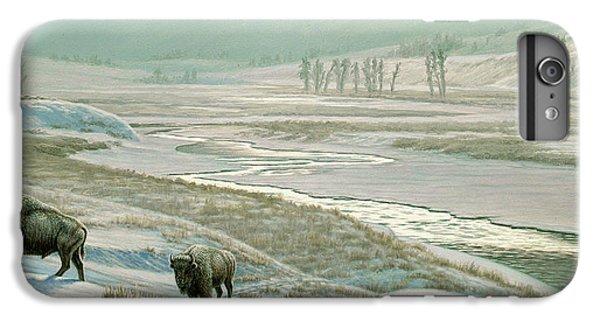 Buffalo iPhone 7 Plus Case - Lamar Valley - Bison by Paul Krapf
