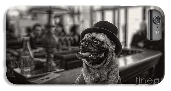 Pug iPhone 7 Plus Case - Last Call by Edward Fielding