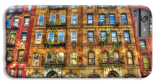 Musicians iPhone 7 Plus Case - Led Zeppelin Physical Graffiti Building In Color by Randy Aveille