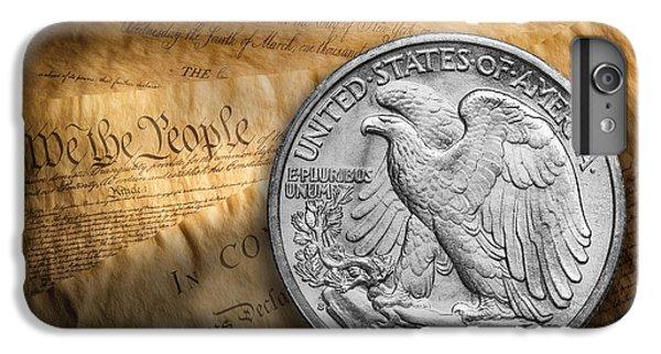 Eagle iPhone 7 Plus Case - Legal Tender by Tom Mc Nemar