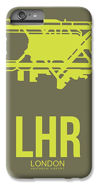 England iPhone 7 Plus Case - Lhr London Airport Poster 3 by Naxart Studio