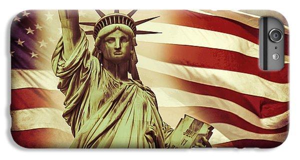 Statue Of Liberty iPhone 7 Plus Case - Liberty by Az Jackson