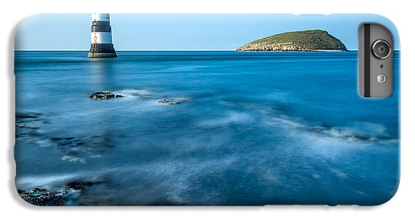 Puffin iPhone 7 Plus Case - Lighthouse At Penmon Point by Adrian Evans