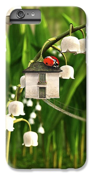 Ladybug iPhone 7 Plus Case - Lily Of The Valley by Cynthia Decker