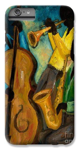 Trumpet iPhone 7 Plus Case - Little Jazz Trio IIi by Larry Martin