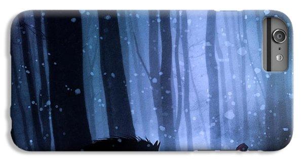 Fairy iPhone 7 Plus Case - Little Red Riding Hood by Sebastien Del Grosso
