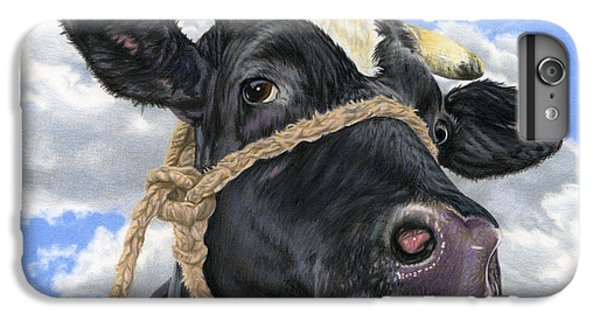 Cow iPhone 7 Plus Case - Lola by Sarah Batalka