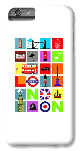London IPhone 7 Plus Case by Mark Rogan