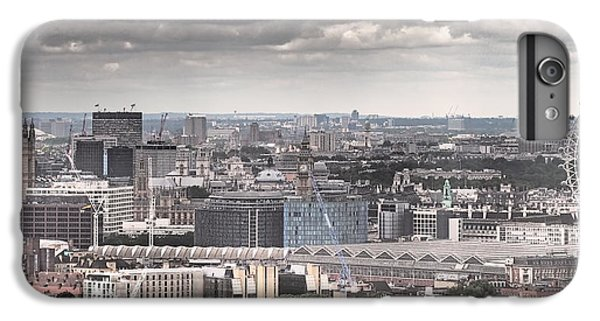 London Under Grey Skies IPhone 7 Plus Case by Rona Black