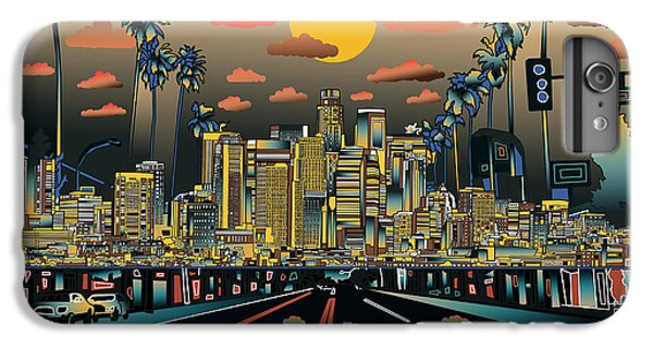 Los Angeles Skyline Abstract 2 IPhone 7 Plus Case