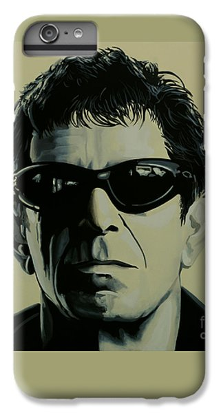Ostrich iPhone 7 Plus Case - Lou Reed Painting by Paul Meijering