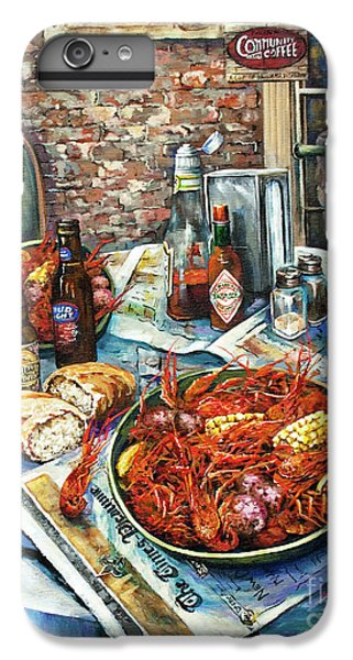 Food And Beverage iPhone 7 Plus Case - Louisiana Saturday Night by Dianne Parks