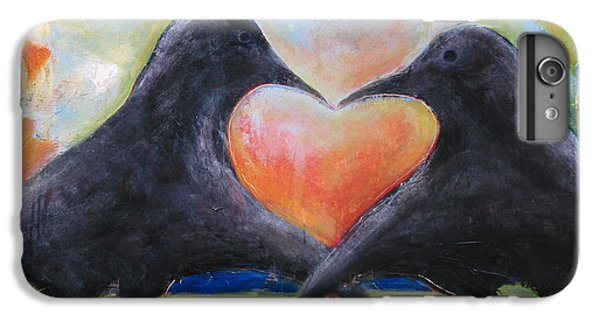 Lovebird iPhone 7 Plus Case - Love Birds by Mary Medrano