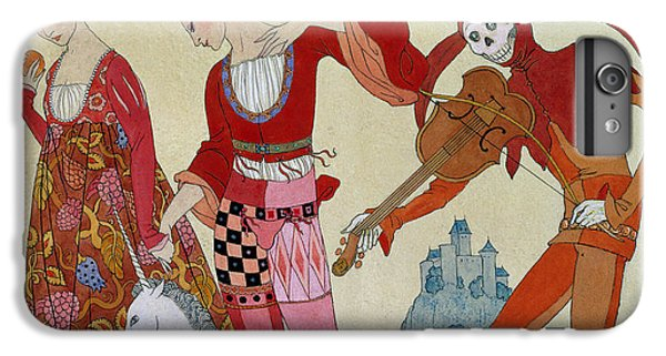 Swallow iPhone 7 Plus Case - Love Desire And Death by Georges Barbier