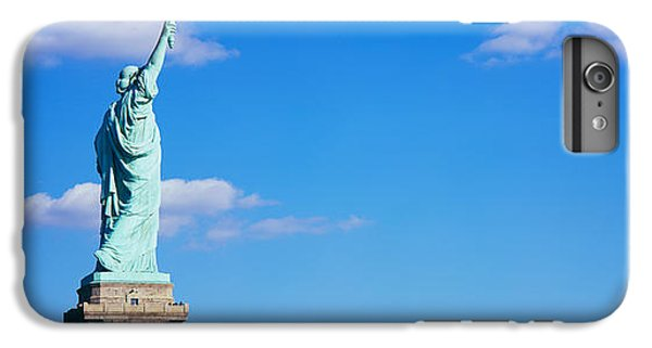 Statue Of Liberty iPhone 7 Plus Case - Low Angle View Of A Statue, Statue by Panoramic Images