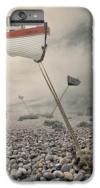 Boats iPhone 7 Plus Case - Low Tide by Baden Bowen