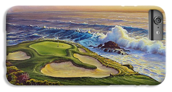 Golf iPhone 7 Plus Case - Lucky Number 7 by Joe Mandrick