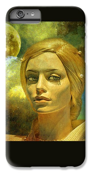 Luna In The Garden Of Evil IPhone 7 Plus Case by Chuck Staley