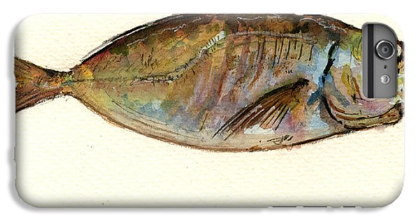 Mackerel Scad IPhone 7 Plus Case by Juan  Bosco