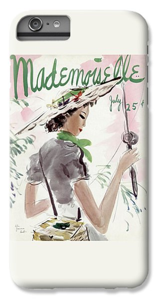 Mademoiselle Cover Featuring A Woman Holding IPhone 7 Plus Case