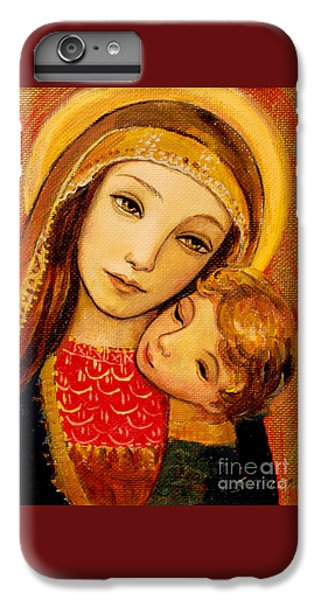 iPhone 7 Plus Case - Madonna And Child by Shijun Munns
