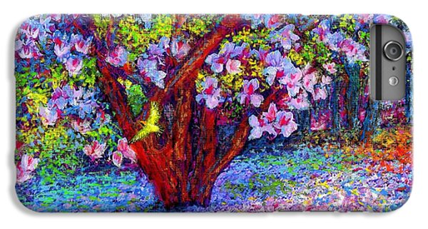 Impressionism iPhone 7 Plus Case - Magnolia Melody by Jane Small
