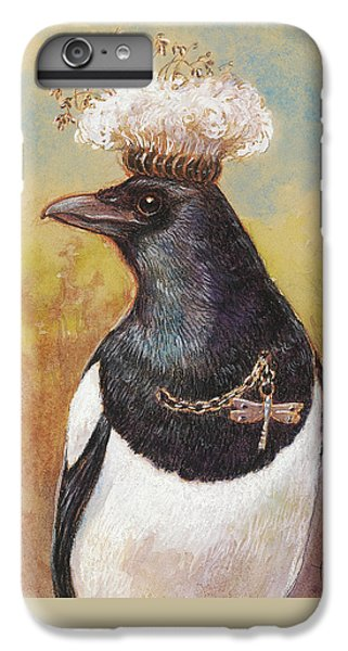 Magpie In A Milkweed Crown IPhone 7 Plus Case